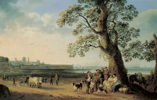 "<a class=""recordlink artists"" href=""/explore/artists/35088"" title=""Jacob Philipp Hackert""><span class=""text"">Jacob Philipp Hackert</span></a>"