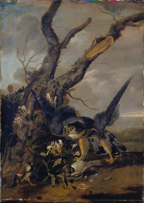"attributed to <a class=""recordlink artists"" href=""/explore/artists/35643"" title=""Carl Wilhelm de Hamilton""><span class=""text"">Carl Wilhelm de Hamilton</span></a>"