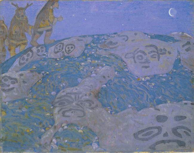 "<a class=""recordlink artists"" href=""/explore/artists/67643"" title=""Nikolai Konstantinovich Roerich""><span class=""text"">Nikolai Konstantinovich Roerich</span></a>"