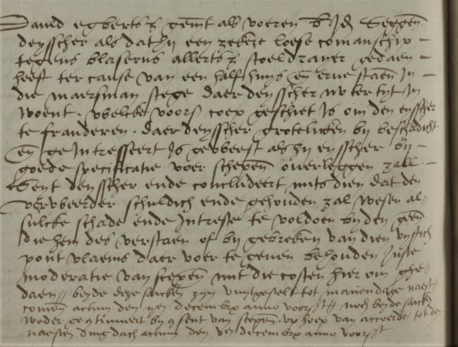 Leiden, 1547-11-21, Schepenbank (Oud Rechterlijk Archief), nummer toegang 0508, inv. no. 42+22 (Wedboek 1547-1548)