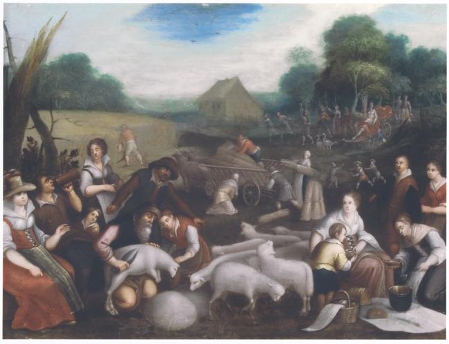 """<a class=""""recordlink artists"""" href=""""/explore/artists/1984"""" title=""""Anoniem""""><span class=""""text"""">Anoniem</span></a> <a class=""""thesaurus"""" href=""""/nl/explore/thesaurus?term=29961&domain=PLAATS"""" title=""""Zuidelijke Nederlanden (historische regio)"""" >Zuidelijke Nederlanden (historische regio)</a> ca. 1600 naar <a class=""""recordlink artists"""" href=""""/explore/artists/4903"""" title=""""Jacopo Bassano""""><span class=""""text"""">Jacopo Bassano</span></a> en naar <a class=""""recordlink artists"""" href=""""/explore/artists/4899"""" title=""""Francesco Bassano (II)""""><span class=""""text"""">Francesco Bassano (II)</span></a>"""