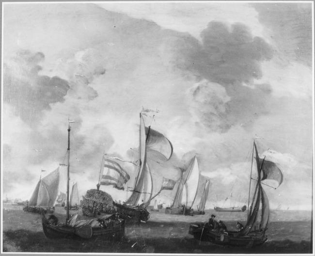 """trant/naar <a class=""""recordlink artists"""" href=""""/explore/artists/79794"""" title=""""Willem van de Velde (II)""""><span class=""""text"""">Willem van de Velde (II)</span></a>"""