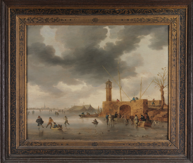 "trant van <a class=""recordlink artists"" href=""/explore/artists/69066"" title=""Salomon van Ruysdael""><span class=""text"">Salomon van Ruysdael</span></a>"
