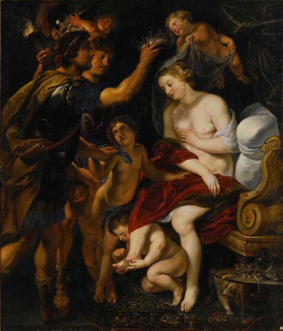 "after <a class=""recordlink artists"" href=""/explore/artists/68737"" title=""Peter Paul Rubens""><span class=""text"">Peter Paul Rubens</span></a> attributed to <a class=""recordlink artists"" href=""/explore/artists/77356"" title=""Theodoor van Thulden""><span class=""text"">Theodoor van Thulden</span></a>"