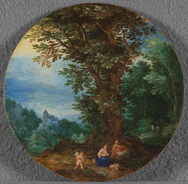 "<a class=""recordlink artists"" href=""/explore/artists/13288"" title=""Jan Brueghel (I)""><span class=""text"">Jan Brueghel (I)</span></a> and studio of <a class=""recordlink artists"" href=""/explore/artists/13288"" title=""Jan Brueghel (I)""><span class=""text"">Jan Brueghel (I)</span></a>"