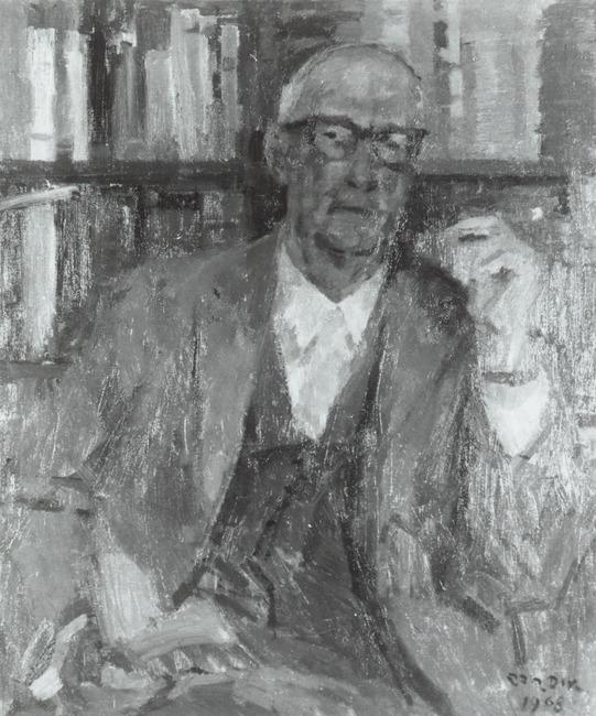 Portret van Wisse Alfred Pierre Smit (1903-1986)