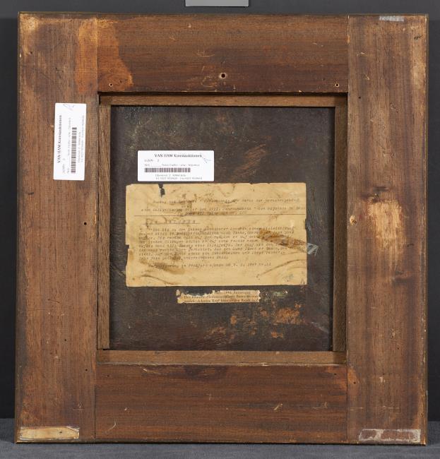 """<a class=""""recordlink artists"""" href=""""/explore/artists/1984"""" title=""""Anoniem""""><span class=""""text"""">Anoniem</span></a> <a class=""""thesaurus"""" href=""""/nl/explore/thesaurus?term=11&domain=PLAATS"""" title=""""Leiden"""" >Leiden</a> laatste kwart 17e eeuw"""