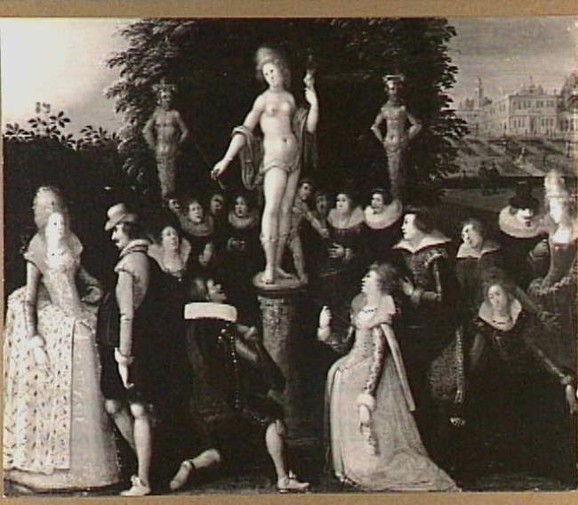"""atelier van <a class=""""recordlink artists"""" href=""""/explore/artists/15992"""" title=""""Louis de Caullery""""><span class=""""text"""">Louis de Caullery</span></a>"""