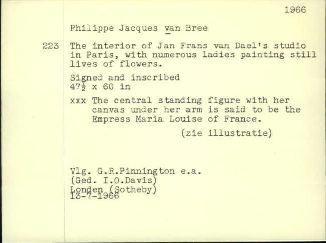 Van Brée, Philippe Jacques, baknummer 267
