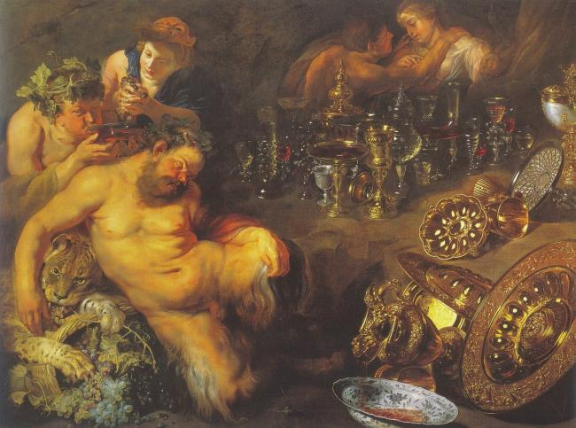 """<a class=""""recordlink artists"""" href=""""/explore/artists/68737"""" title=""""Peter Paul Rubens""""><span class=""""text"""">Peter Paul Rubens</span></a> and <a class=""""recordlink artists"""" href=""""/explore/artists/96777"""" title=""""David Rijckaert (II)""""><span class=""""text"""">David Rijckaert (II)</span></a> and follower of <a class=""""recordlink artists"""" href=""""/explore/artists/73723"""" title=""""Frans Snijders""""><span class=""""text"""">Frans Snijders</span></a>"""