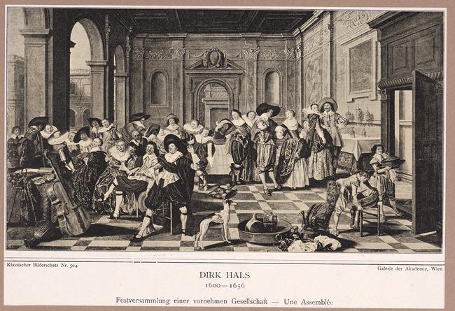 """<a class=""""recordlink artists"""" href=""""/explore/artists/35549"""" title=""""Dirck Hals""""><span class=""""text"""">Dirck Hals</span></a> and <a class=""""recordlink artists"""" href=""""/explore/artists/21682"""" title=""""Dirck van Delen""""><span class=""""text"""">Dirck van Delen</span></a>"""