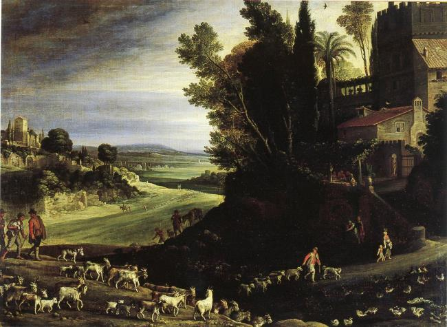 "<a class=""recordlink artists"" href=""/explore/artists/12590"" title=""Paul Bril""><span class=""text"">Paul Bril</span></a>"