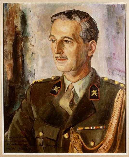 Portret van Nicolaas Engelbert de Brauw (1914-1987)