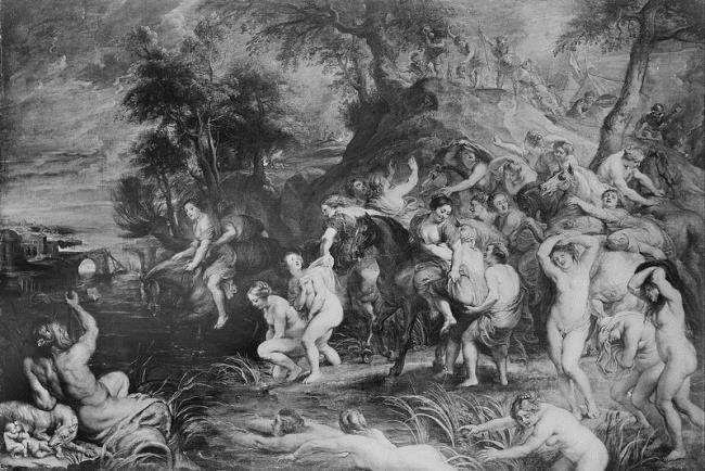 "<a class=""recordlink artists"" href=""/explore/artists/68737"" title=""Peter Paul Rubens""><span class=""text"">Peter Paul Rubens</span></a> or studio of <a class=""recordlink artists"" href=""/explore/artists/68737"" title=""Peter Paul Rubens""><span class=""text"">Peter Paul Rubens</span></a> and possibly <a class=""recordlink artists"" href=""/explore/artists/9585"" title=""Jan Boeckhorst""><span class=""text"">Jan Boeckhorst</span></a>"