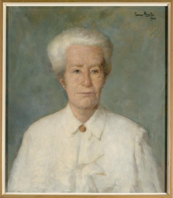 Portret van Ludolphine Henriette Schimmelpenninck van der Oije (1891-1965)