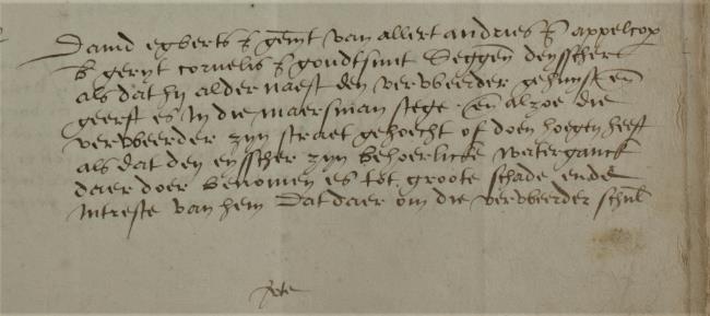 Leiden, 1548-04-13, Schepenbank (Oud Rechterlijk Archief), nummer toegang 0508, inv. no. 42+22 (Wedboek 1547-1548)
