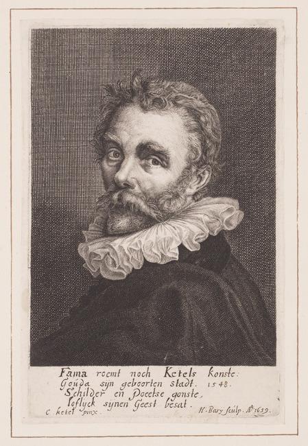 "<a class=""recordlink artists"" href=""/explore/artists/4830"" title=""Hendrik Bary""><span class=""text"">Hendrik Bary</span></a> naar <a class=""recordlink artists"" href=""/explore/artists/44136"" title=""Cornelis Ketel""><span class=""text"">Cornelis Ketel</span></a>"