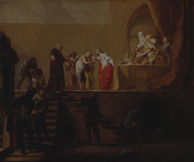 "toegeschreven aan <a class=""recordlink artists"" href=""/explore/artists/45163"" title=""Nicolaes Knüpfer""><span class=""text"">Nicolaes Knüpfer</span></a>"