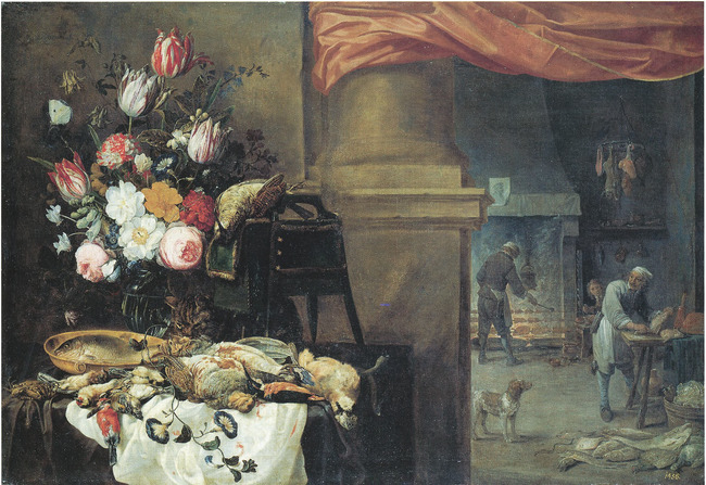 "<a class=""recordlink artists"" href=""/explore/artists/76786"" title=""David Teniers (II)""><span class=""text"">David Teniers (II)</span></a> en <a class=""recordlink artists"" href=""/explore/artists/80209"" title=""Nicolaes van Verendael""><span class=""text"">Nicolaes van Verendael</span></a> en <a class=""recordlink artists"" href=""/explore/artists/51456"" title=""Carstian Luyckx""><span class=""text"">Carstian Luyckx</span></a>"