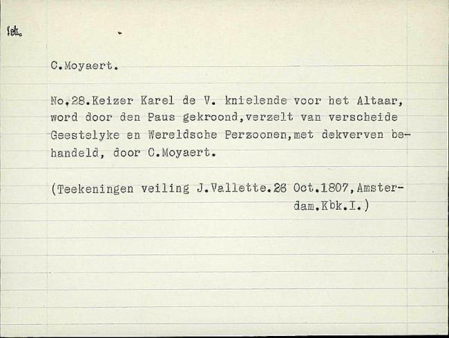 Moeyaert, Claes, card number 1327330