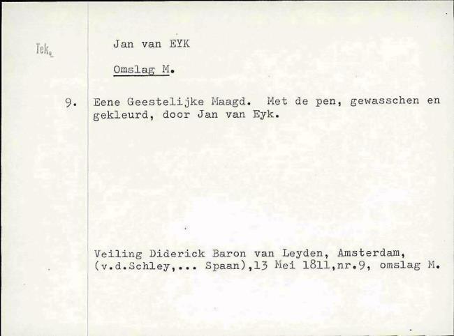 Eyck, Jan van, card number 1145947