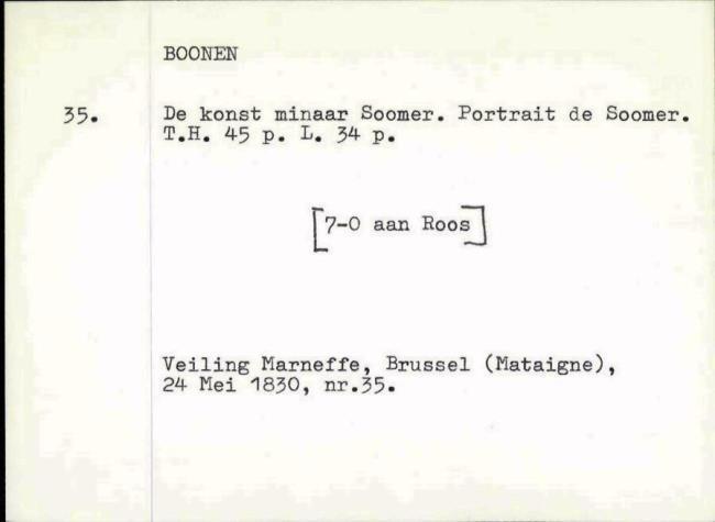 Boonen, Arnold, box number 045