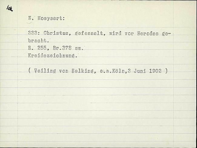 Moeyaert, Claes, card number 1327319