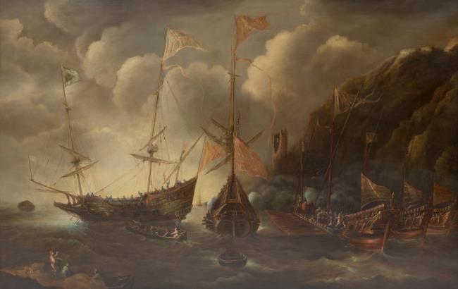 "<a class=""recordlink artists"" href=""/explore/artists/25622"" title=""Andries van Eertvelt""><span class=""text"">Andries van Eertvelt</span></a>"