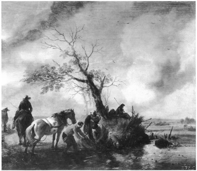 "possibly studio of <a class=""recordlink artists"" href=""/explore/artists/85690"" title=""Philips Wouwerman""><span class=""text"">Philips Wouwerman</span></a>"