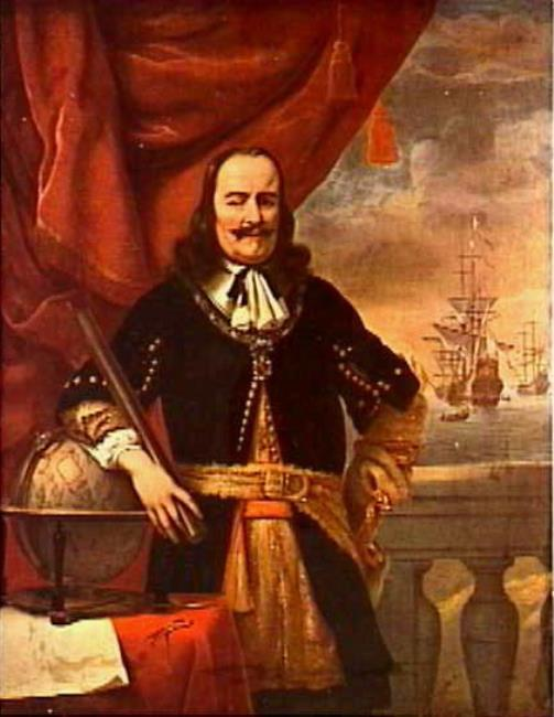 "<a class=""recordlink artists"" href=""/explore/artists/10080"" title=""Ferdinand Bol""><span class=""text"">Ferdinand Bol</span></a> en mogelijk <a class=""recordlink artists"" href=""/explore/artists/79794"" title=""Willem van de Velde (II)""><span class=""text"">Willem van de Velde (II)</span></a>"