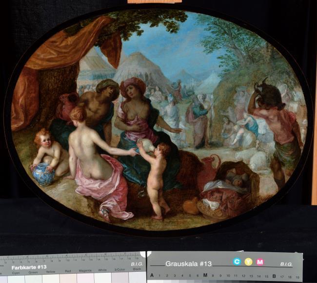 "<a class=""recordlink artists"" href=""/explore/artists/4015"" title=""Hendrick van Balen (I)""><span class=""text"">Hendrick van Balen (I)</span></a> en <a class=""recordlink artists"" href=""/explore/artists/13288"" title=""Jan Brueghel (I)""><span class=""text"">Jan Brueghel (I)</span></a>"