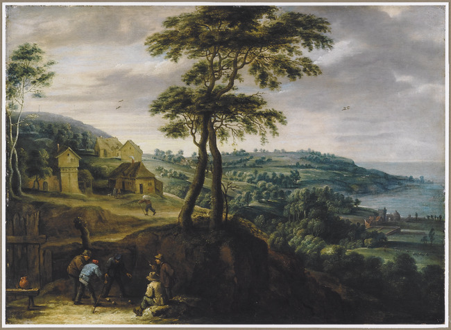 "<a class=""recordlink artists"" href=""/explore/artists/76786"" title=""David Teniers (II)""><span class=""text"">David Teniers (II)</span></a> and <a class=""recordlink artists"" href=""/explore/artists/78659"" title=""Lucas van Uden""><span class=""text"">Lucas van Uden</span></a>"