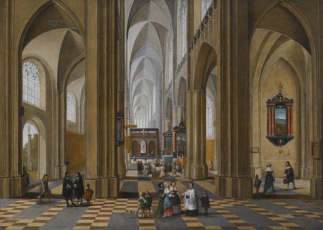 """<a class=""""recordlink artists"""" href=""""/explore/artists/59042"""" title=""""Pieter Neefs (I)""""><span class=""""text"""">Pieter Neefs (I)</span></a> en <a class=""""recordlink artists"""" href=""""/explore/artists/29002"""" title=""""Frans Francken (II)""""><span class=""""text"""">Frans Francken (II)</span></a>"""