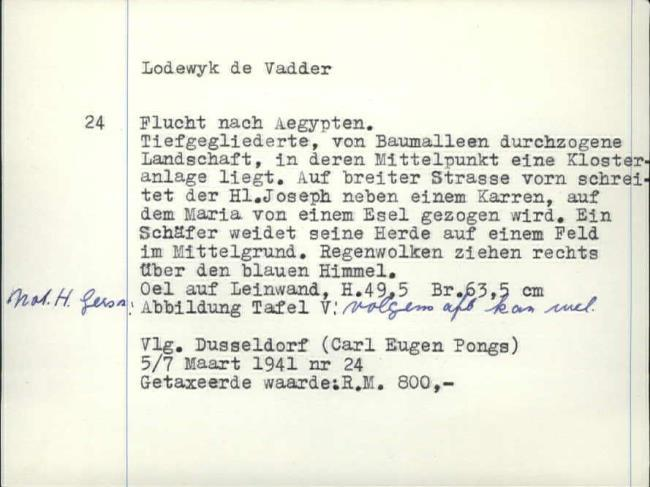 Vadder, Lodewijk de, baknummer 266
