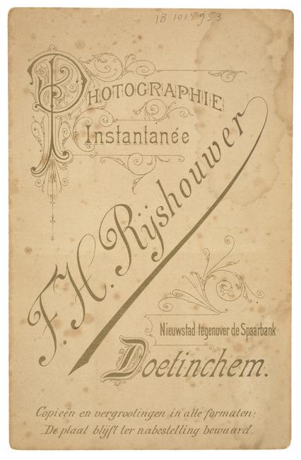 "<a class=""recordlink artists"" href=""/explore/artists/418612"" title=""F.H. Rijshouwer""><span class=""text"">F.H. Rijshouwer</span></a>"