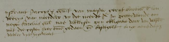 Leiden, 1536-01-31, Schepenbank (Oud Rechterlijk Archief), nummer toegang 0508, inv. no. 42+9 (Wedboek 1535-1536)