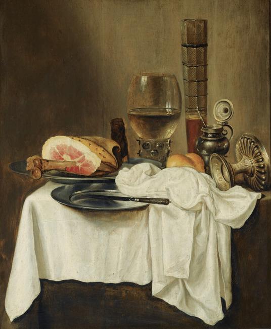 "follower of <a class=""recordlink artists"" href=""/explore/artists/36809"" title=""Willem Claesz. Heda""><span class=""text"">Willem Claesz. Heda</span></a>"