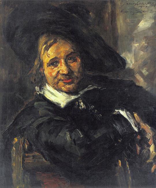 "<a class=""recordlink artists"" href=""/explore/artists/18353"" title=""Lovis Corinth""><span class=""text"">Lovis Corinth</span></a> naar <a class=""recordlink artists"" href=""/explore/artists/35550"" title=""Frans Hals (I)""><span class=""text"">Frans Hals (I)</span></a>"