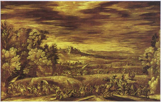 "attributed to <a class=""recordlink artists"" href=""/explore/artists/5187"" title=""Johann Wilhelm Baur""><span class=""text"">Johann Wilhelm Baur</span></a>"