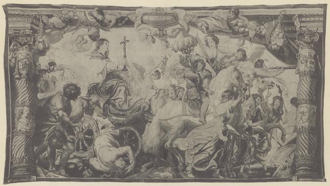 "wandtapijtweverij van <a class=""recordlink artists"" href=""/explore/artists/426362"" title=""Frans van den Hecke (I)""><span class=""text"">Frans van den Hecke (I)</span></a> naar ontwerp van <a class=""recordlink artists"" href=""/explore/artists/68737"" title=""Peter Paul Rubens""><span class=""text"">Peter Paul Rubens</span></a>"