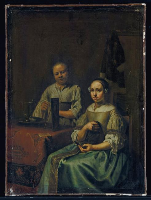 "<a class=""recordlink artists"" href=""/explore/artists/74867"" title=""Gerhard van Steenwijck""><span class=""text"">Gerhard van Steenwijck</span></a>"