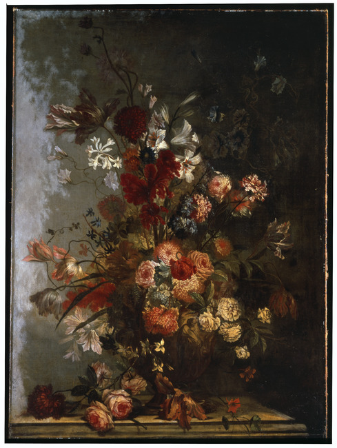 """attributed to <a class=""""recordlink artists"""" href=""""/explore/artists/81598"""" title=""""Carel de Vogelaer""""><span class=""""text"""">Carel de Vogelaer</span></a>"""