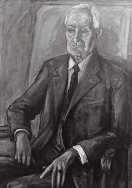 Portret van Felix Andries Vening Meinesz (1887-1966)