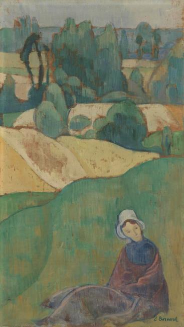 "<a class=""recordlink artists"" href=""/explore/artists/7433"" title=""Émile Bernard""><span class=""text"">Émile Bernard</span></a>"