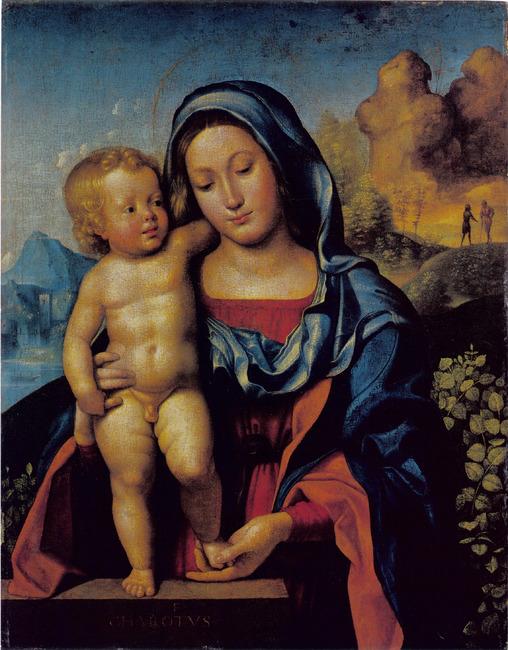 "<a class=""recordlink artists"" href=""/explore/artists/15498"" title=""Giovanni Francesco Caroto""><span class=""text"">Giovanni Francesco Caroto</span></a>"