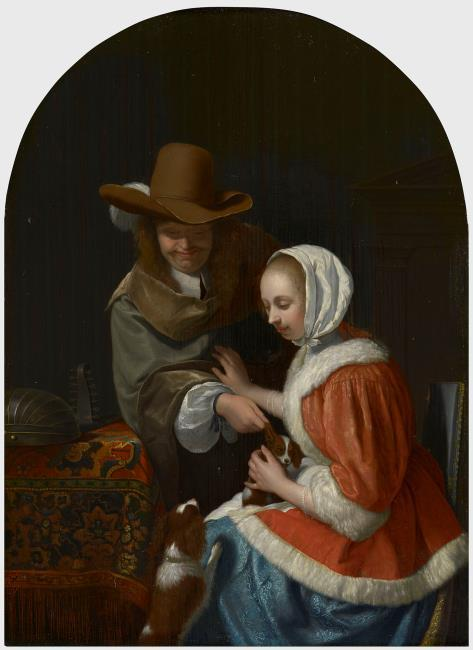 "naar <a class=""recordlink artists"" href=""/explore/artists/56019"" title=""Frans van Mieris (I)""><span class=""text"">Frans van Mieris (I)</span></a>"