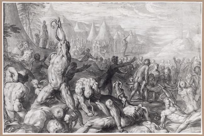 """toegeschreven aan <a class=""""recordlink artists"""" href=""""/explore/artists/18412"""" title=""""Cornelis Cornelisz. van Haarlem""""><span class=""""text"""">Cornelis Cornelisz. van Haarlem</span></a>"""