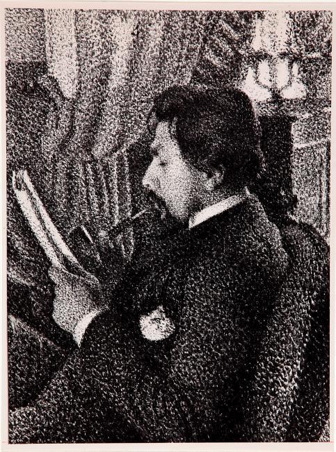 Portrait of Jan Toorop (1858-1928)