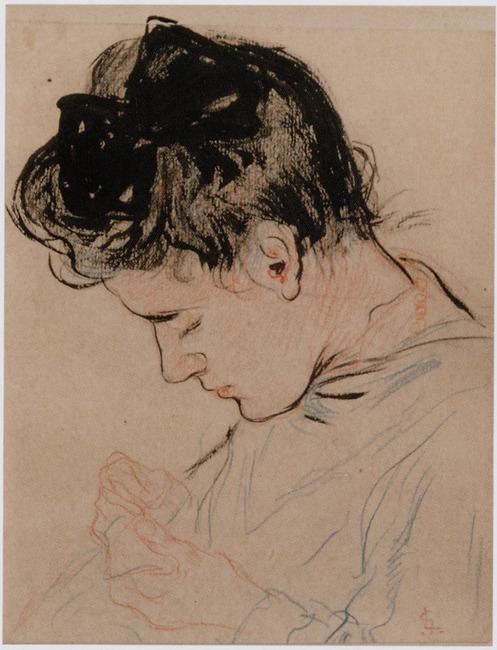 Portret van Anna Maria Gestel (1878-1965)
