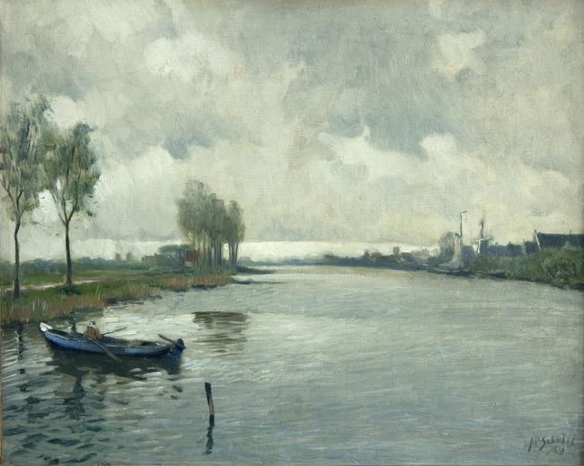 "<a class=""recordlink artists"" href=""/explore/artists/71055"" title=""Anthonie Pieter Schotel""><span class=""text"">Anthonie Pieter Schotel</span></a>"